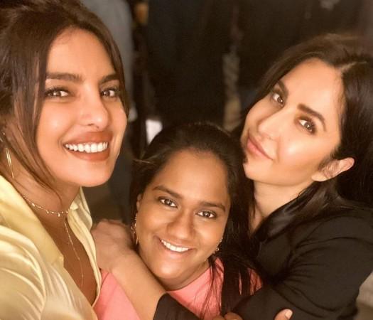 Priyanka Chopra, Arpita Khan Sharma, Katrina Kaif