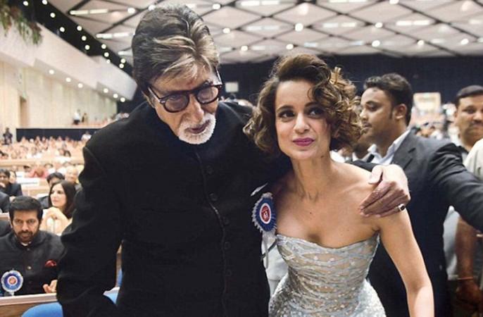 Amitabh Bachchan and Kangana Ranaut