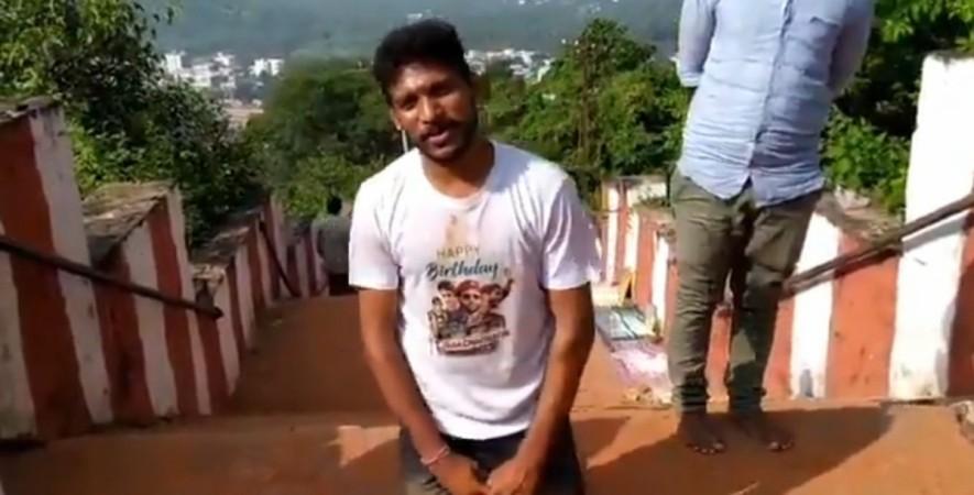 Naga Chaitanya's fan named Sagar