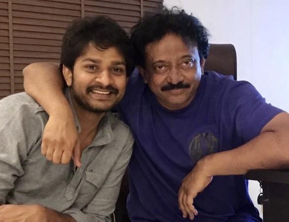 Ram Gopal Varma with Sandeep Madhav