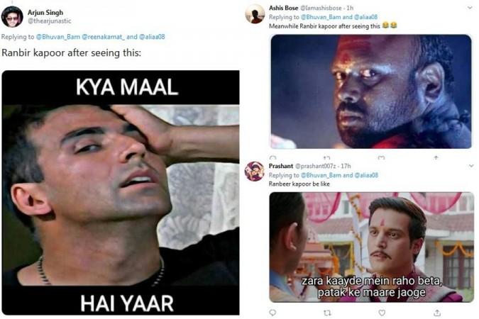 Funny memes on Ranbir Kapoor