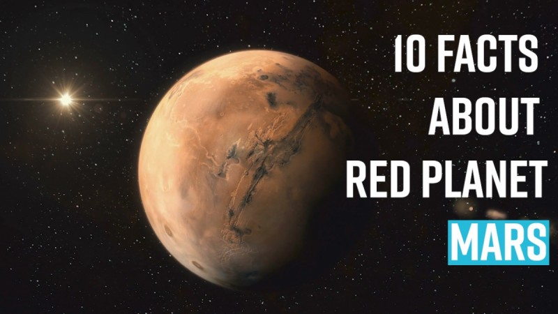 10 facts about Red Planet,