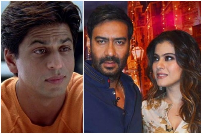 Kajol replied to fans who asked whether she would marry Shah Rukh Khan if she did not meey Ajay Devgn.