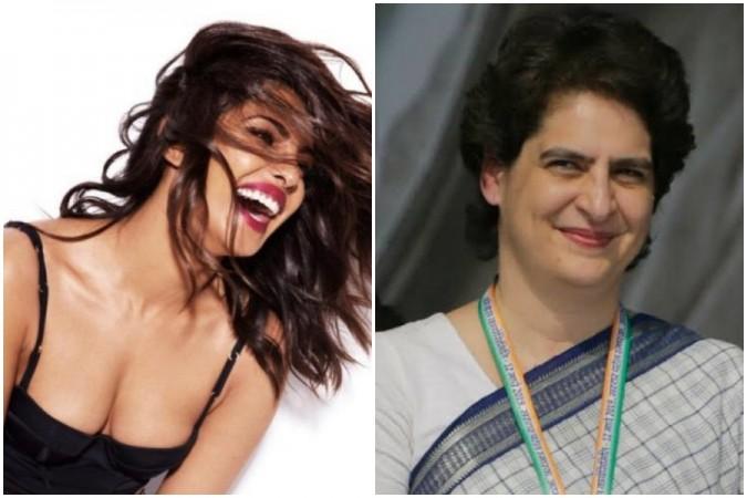 Priyanka Chopra and Priyanka Gandhi