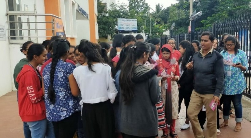 BCP conducts awareness campaign on women safety and Suraksha App