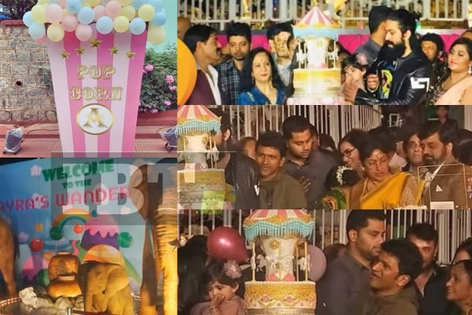 Yash's Daughter Ayra Birthday Pictures