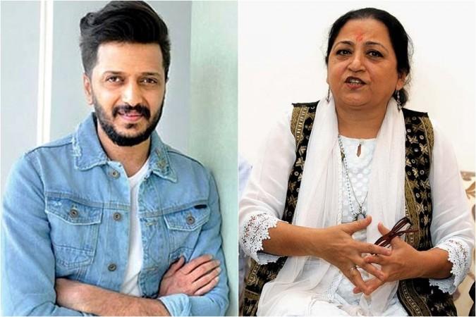 Riteish Deshmukh and MadhuPurnima Kishwar