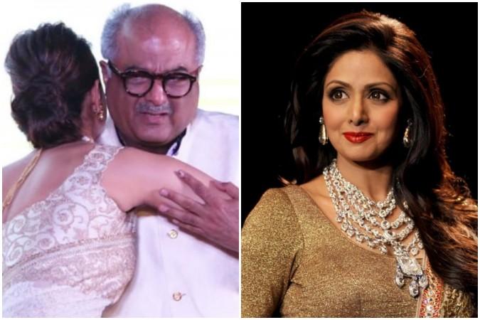 Boney Kapoor yet again breaks down remembering Sridevi