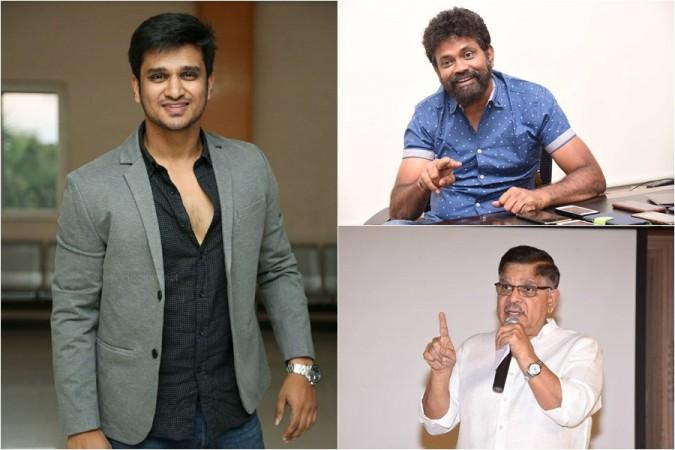 Nikhil Siddhartha, Sukumar and Allu Aravind