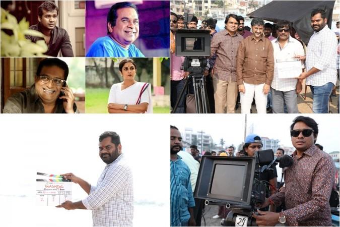Rangamarthanda team and its launch photos