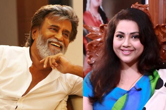 Rajinikanth and Meena