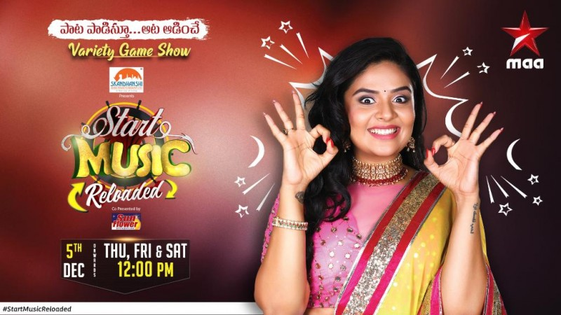 Sreemukhi on Start Music Reloaded