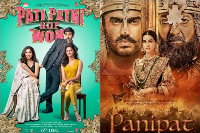 Pati Patni Aur Woh and Panipat