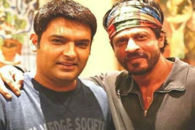 Shah Rukh Khan's prank on Kapil Sharma's show