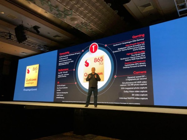 Qualcomm Snapdragon 865 announced in Hawaii