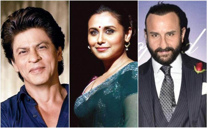 Shahrukh Khan, Rani Mukerji, Saif Ali Khan