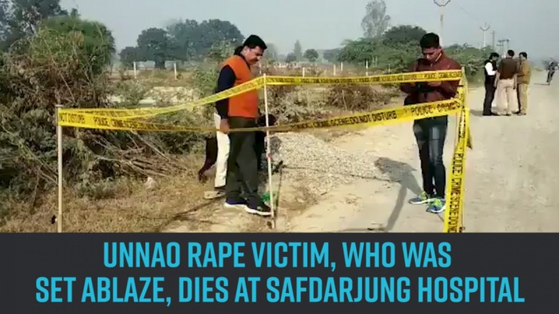 Unnao rape victim, who was set ablaze, dies at Safdarjung Hospital