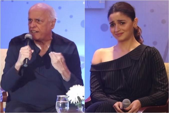Mahesh Bhatt, Alia Bhatt