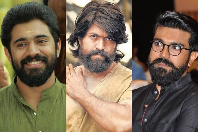 KGF star Yash bumps into RRR actor Ram Charan and Nivin Pauly