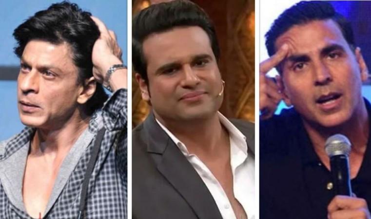 Shah Rukh Khan, Krushna Abhishek, Akshay Kumar