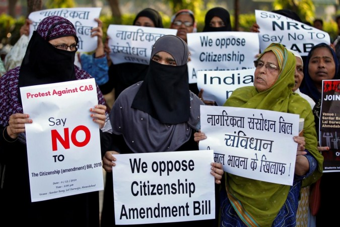 Citizenship amendment bill protest