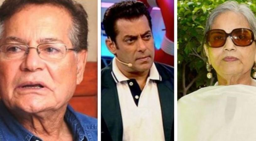 Salim Khan, Salman Khan, Salma Khan