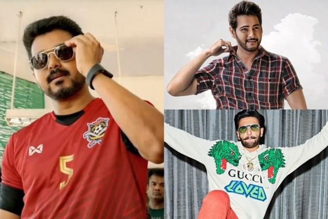 Vijay next only to Shah Rukh, ahead of Ranveer Singh and Mahesh Babu in Twitter