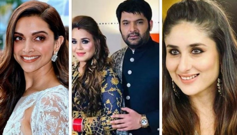 Deepika Padukone, Ginni, Kapil, Kareena Kapoor