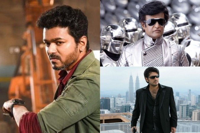 Vijay vs Rajinikanth vs Ajith