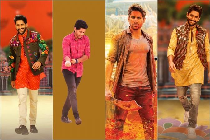Naga Chaitanya's different avatars in Venky Mama