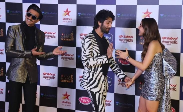 Ranveer Singh, Shahid Kapoor, Sara Ali Khan