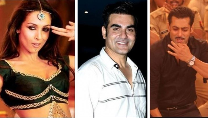 Malaika Arora, Arbaaz Khan, Salman Khan