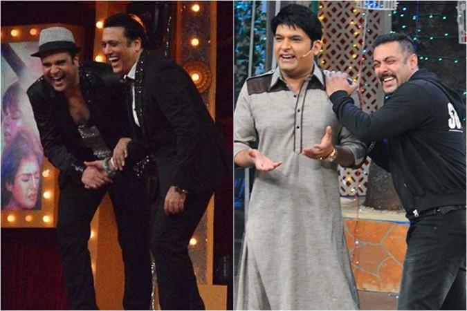 Krushna Abhishek, Govinda, Kapil Sharma, Salman Khan
