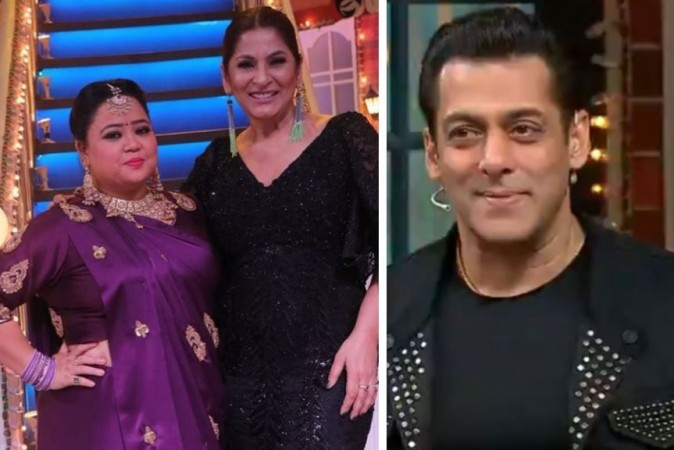 Bharti Singh, Archana Puran Singh, Salman Khan