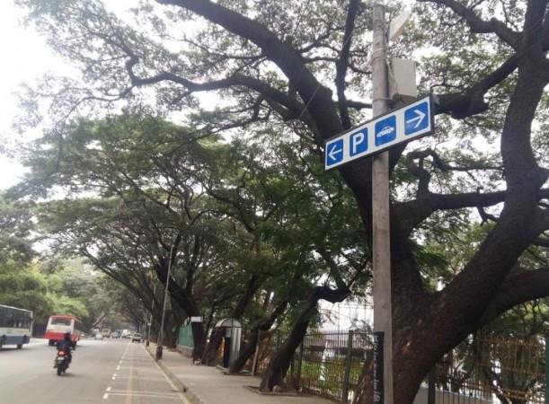 Smart parking system in Bengaluru