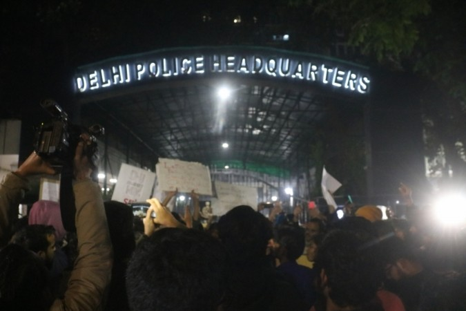 Protests in Delhi