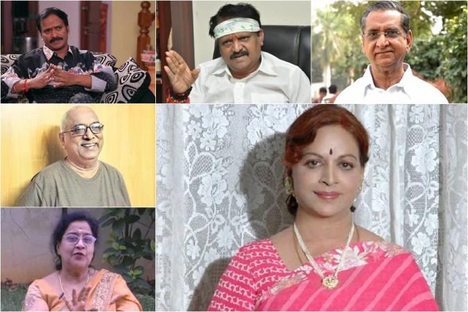 Venu Madhav, Kodi Ramakrishna, Gollapudi Maruthi Rao, Indraganti Srikanth Sharma, Geetanjali Ramakrishna and Vijaya Nirmala