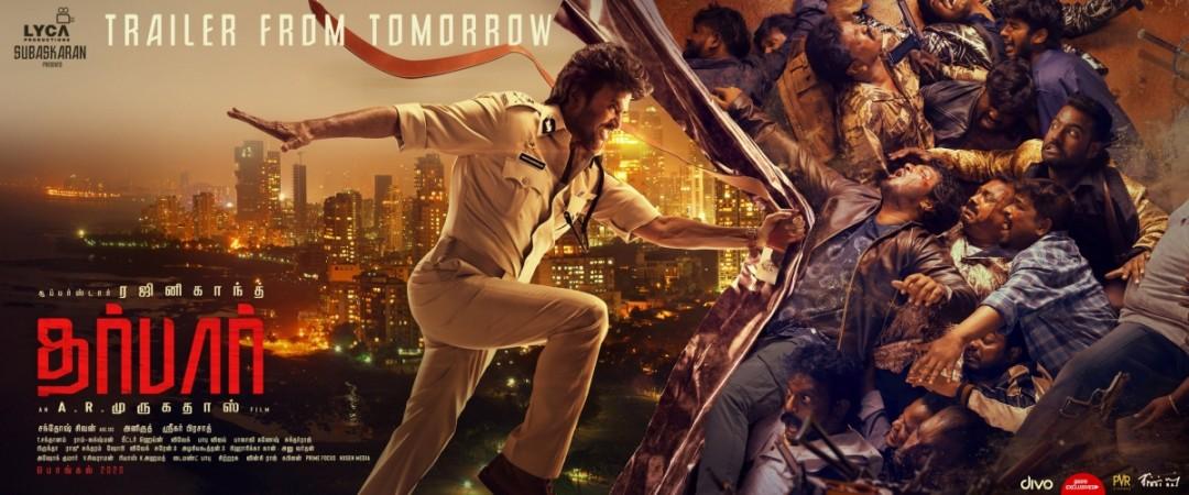 Rajinikanth's Darbar Trailer