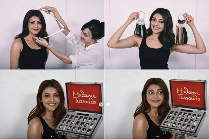 Kajal Aggarwal's wax state at Madame Tussauds in Singapore
