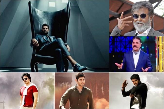Prabhas, Rajnikanth, Kamal Haasan, Pawan Kalyan, Mahesh Babu and Vijay
