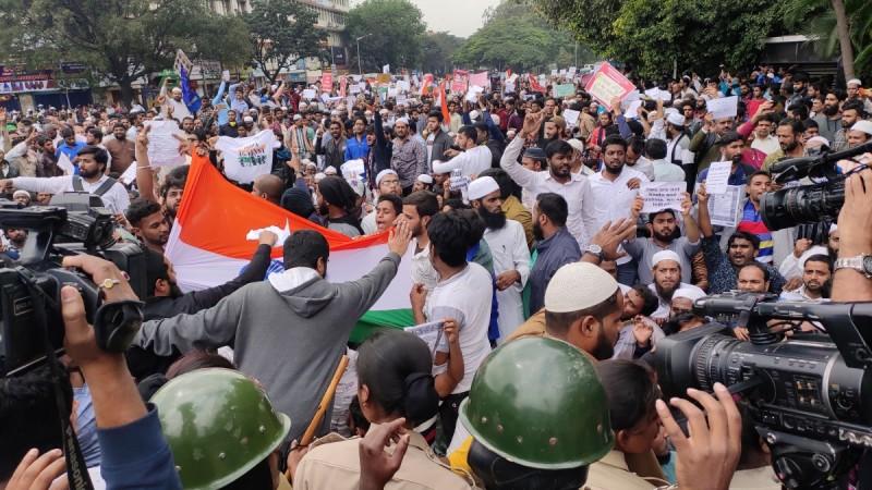 Anti-CAA protest in Bengaluru