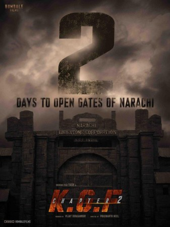 Yash's KGF: Chapter 2