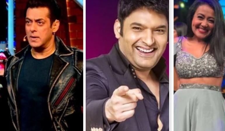 Salman Khan, Kapil Sharma, Neha Kakkar; TRP report
