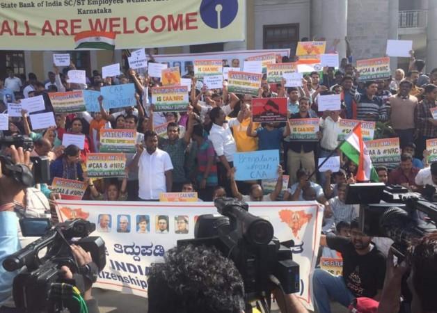 Pro-CAA rally in Bengaluru