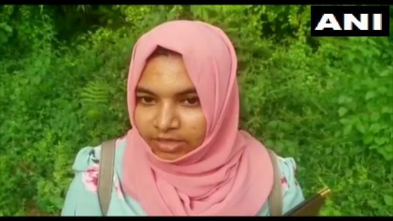 Rabeeha Abdurehim.Twitter/ANI