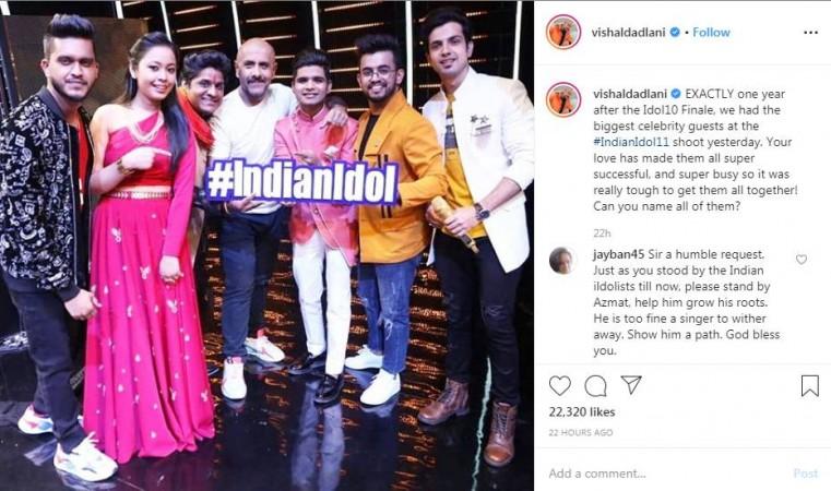 Sunny Hindustani and Salman Ali on Indian Idol 11