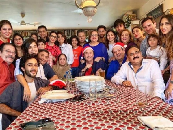 The Kapoor's Christmas brunch