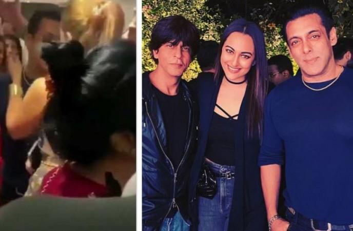Salman Khan, Iulia Vantur, Shah Rukh Khan, Sonakshi Sinha