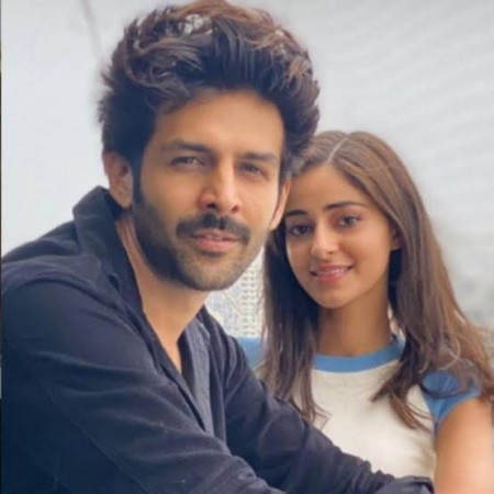 Karthik Aaryan and Ananya Panday