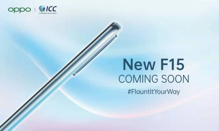 Oppo F15 launch in India confirmed